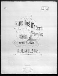 Rippling waters, op. 154