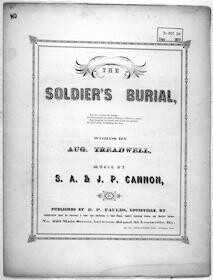 The  soldier's burial