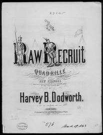 Raw recruit, quadrille
