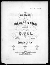 En avant!, the forward march