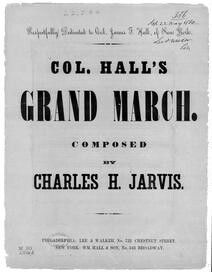 Col. Hall's grand march