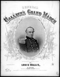 Major General Halleck's grand march