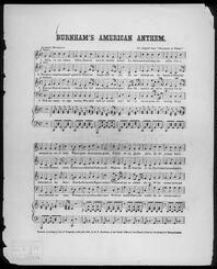 Burnham's American anthem