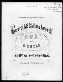Gen. McClellan's farewell to the Army of the Potomac