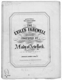 The  Exile's farewell