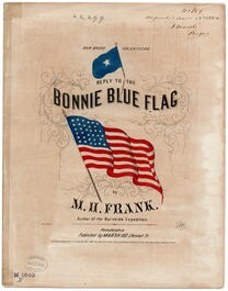 Answer to the bonnie blue flag