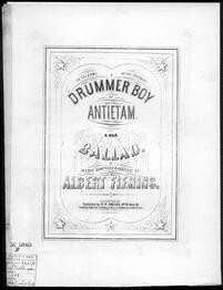 The  Drummer boy of Antietam