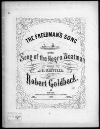 The  Freedman's, or negro boatman's song