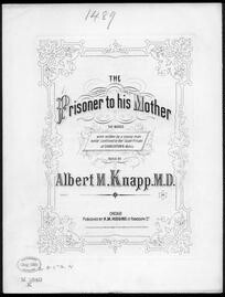 The  Prisoner to his mother