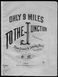 Only nine miles to the junction