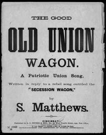 The  good old Union wagon