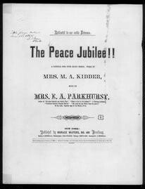 The  Peace jubilee