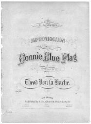 Improvisation on the bonnie blue flag