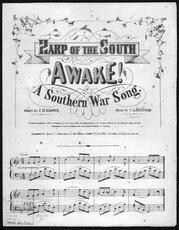 Awake! A southern war song