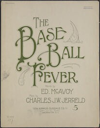 The  base ball fever