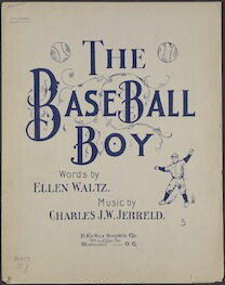 The  baseball boy
