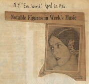 Notable figures in week's music