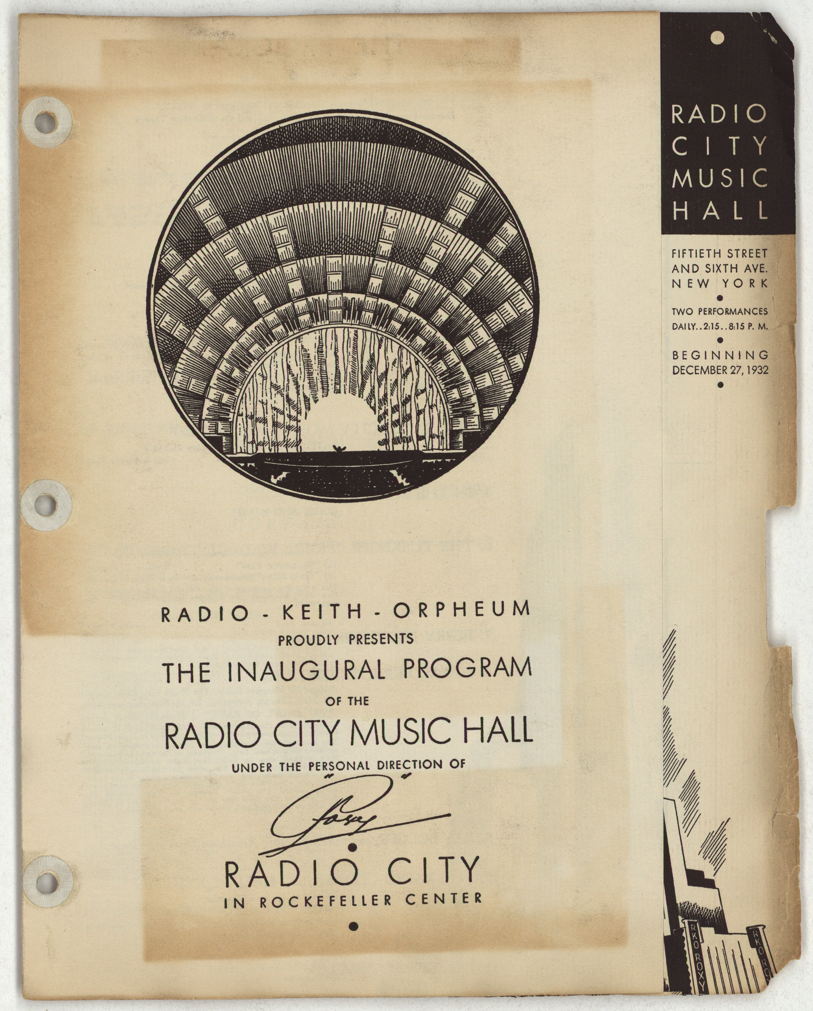 a personal recount on visiting radio city music hall in new york city American composers orchestra announces 2018-2019  seattle town hall, and louisville chamber music  previously served as music director of new york city.