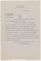 [ Letter from Elizabeth Sprague Coolidge to Erick Hawkins, May 29, 1942]