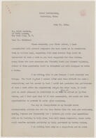 [ Letter from Elizabeth Sprague Coolidge to Erick Hawkins, June 16, 1942]