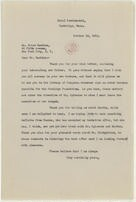 [ Letter from Elizabeth Sprague Coolidge to Erick Hawkins, October 10, 1942]