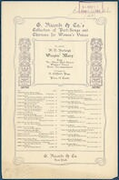 Weepin' Mary chorus women's voices : Negro spiritual