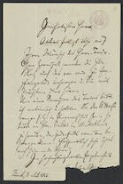 [Letter], 1866 Juli 4, Zurich [to unknown correspondent]
