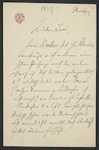 [Letter, undated to] Levi