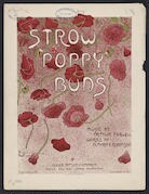 Strow Poppy Buds