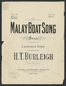 Malay boat song song