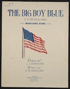The  big boy blue U. S. National Army marching song