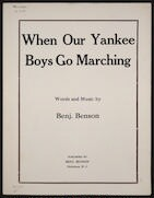 When our Yankee boys go marching