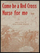 Come be a Red Cross nurse for me