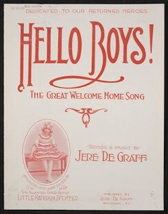 Hello boys! the great welcome home song