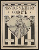 Kiss your soldier boy good-bye