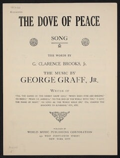 The  dove of peace song