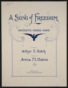 A  song of freedom patriotic march-song