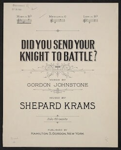 Did you send your knight to battle?