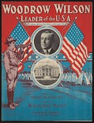 Woodrow Wilson, leader of the U.S.A