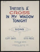 There's a cross in my window tonight song