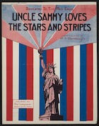 Uncle Sammy loves the stars and stripes