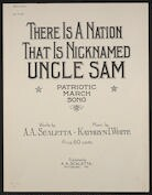 There is a nation that is nicknamed Uncle Sam patriotic march song