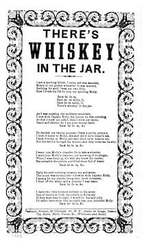 There's whiskey in the jar. Andrews, Printer, 38 Chatham St., N. Y
