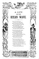 A life on the ocean wave. H. De Marsan, 54 Chatham Street, N. Y