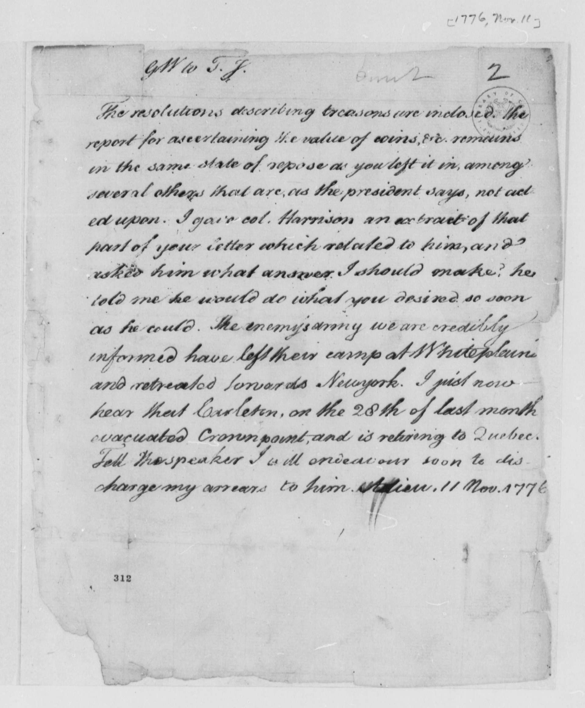 thomas jefferson papers Title thomas jefferson papers, 1761-1931 id mss 391 j35 extent 2670 items scope and contents letters, 1785-1826, written by thomas jefferson while serving as a.