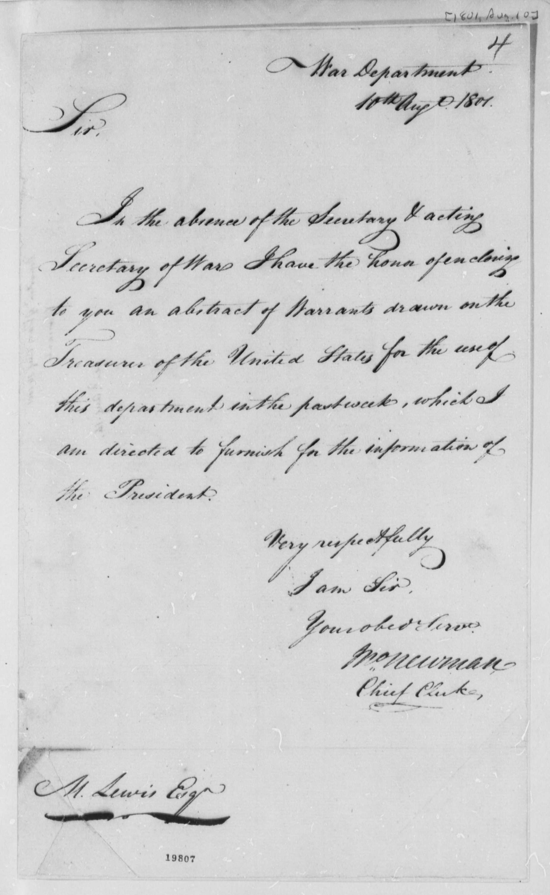 meriwether lewis essay Excerpt from president jefferson's instructions to captain meriwether lewis ( june 20  by returning safely with that, you may enable us to renew the essay  with.