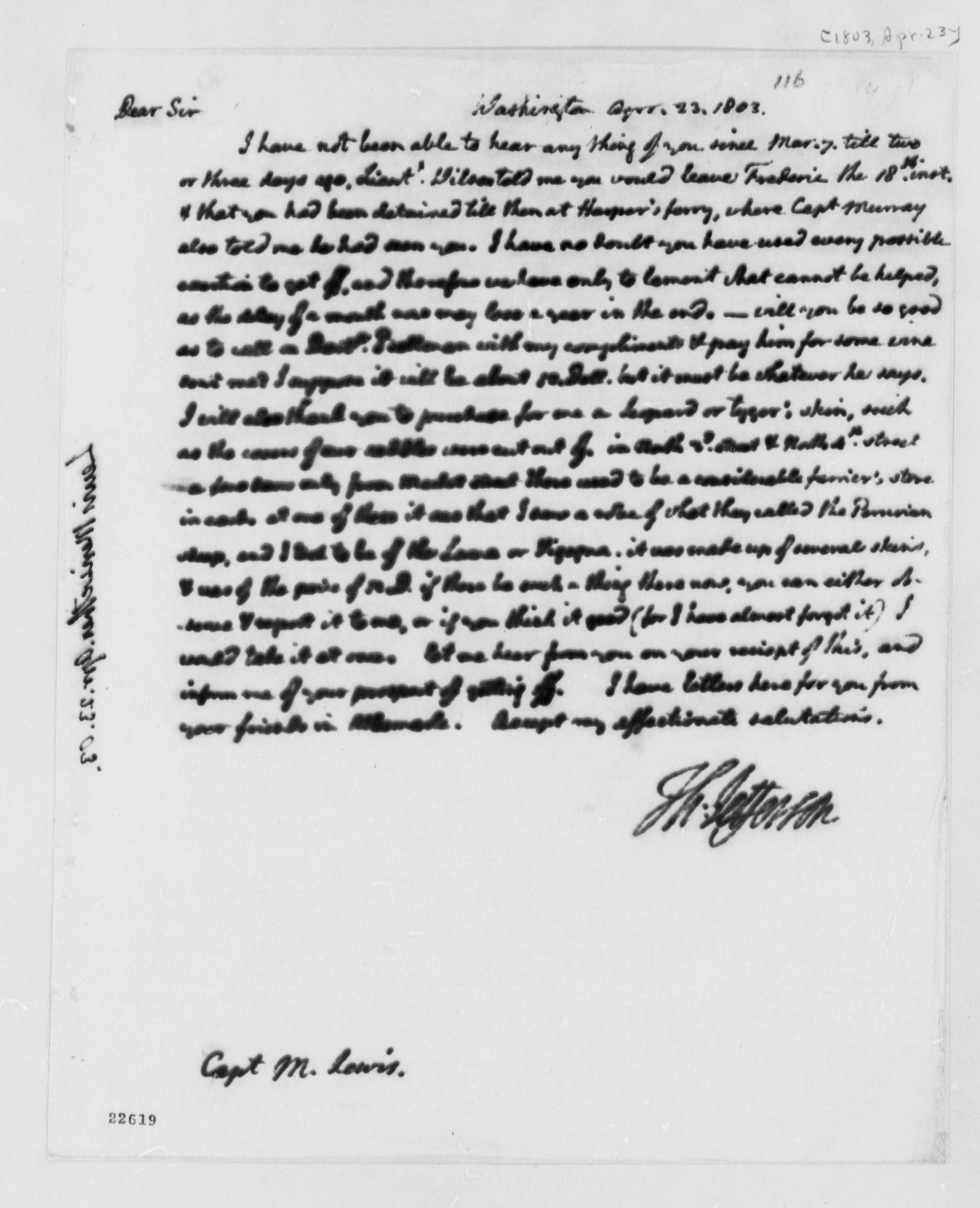 meriwether lewis essay The death of meriwether lewis did the famed explorer die by his own hand -- or was he murdered in september 1806, the.