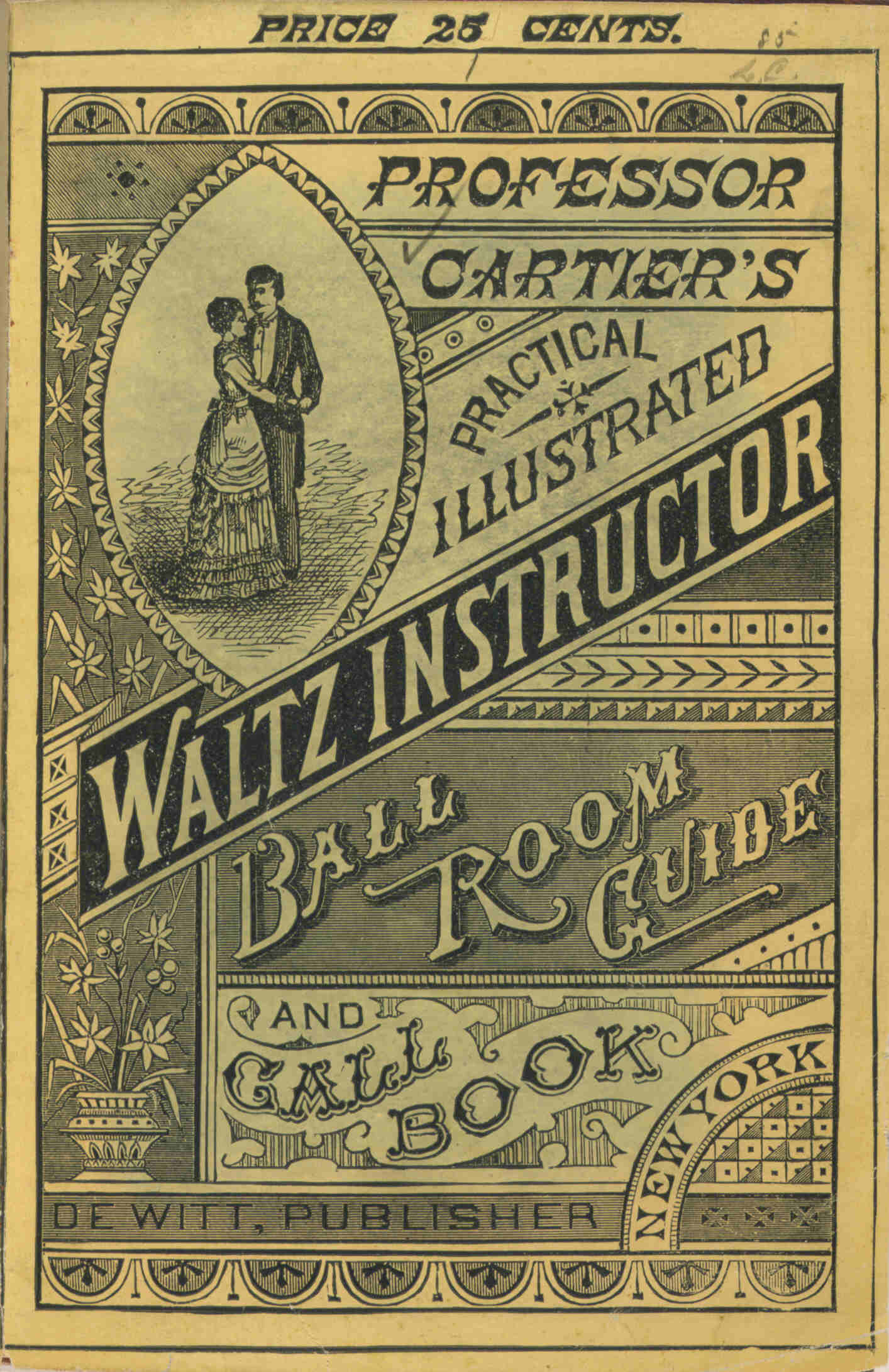 Capering Kickery Waltz Steps In Addition Dance On Tango Diagram Cartiers Practical Illustrated Instructor Ball Room Guide And Call Book