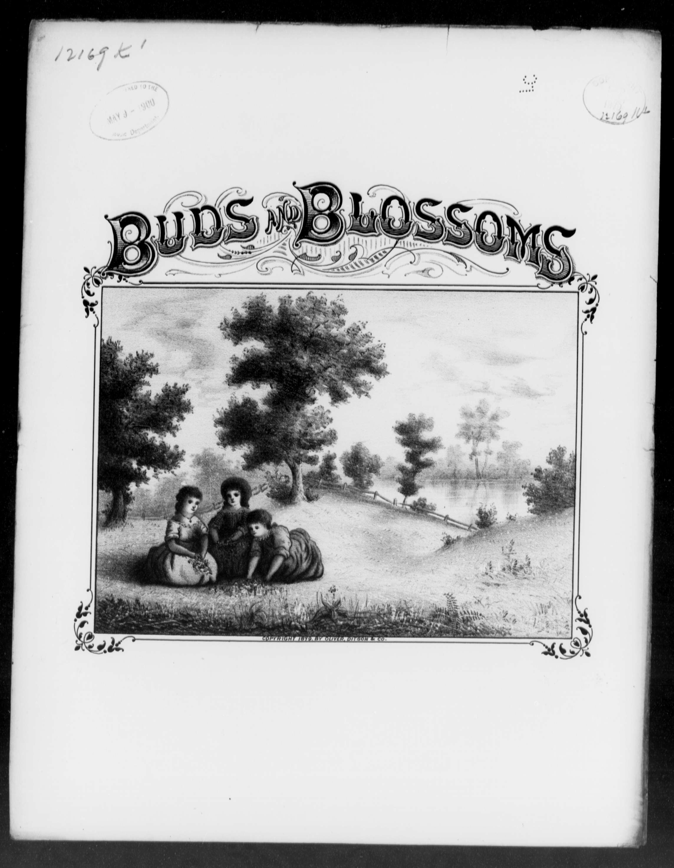 Buds and blossoms [title page only]
