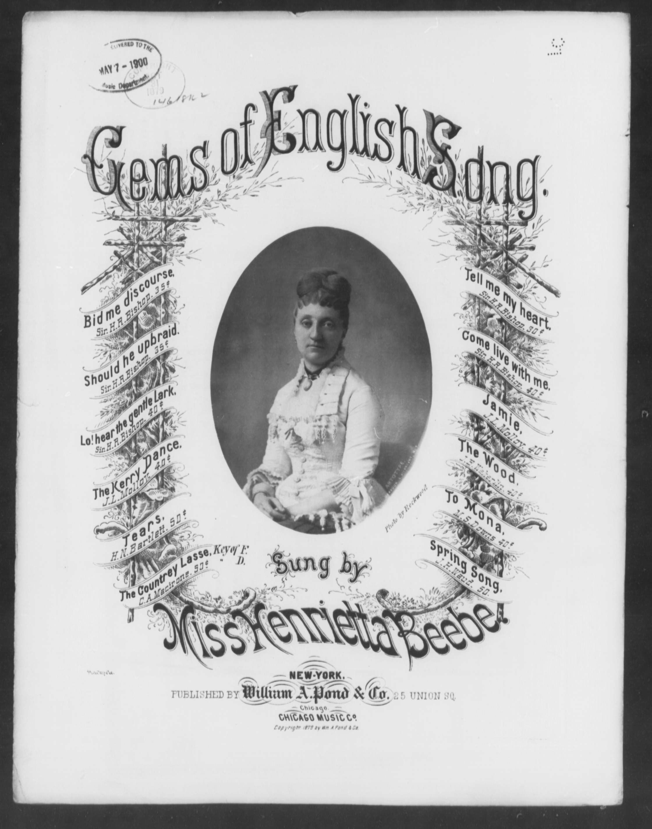 Gems of english song [title page only]
